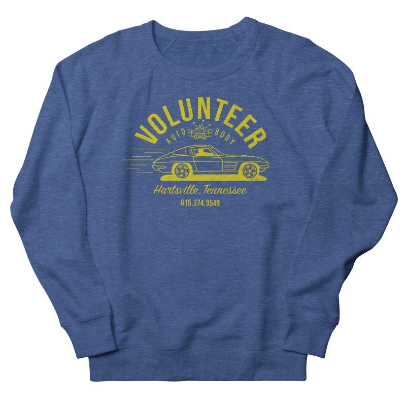 VOLUNTEER AUTO BODY t-shirt (men, women, kids) Men's Sweatshirt by Max Grundy Design's Artist Shop