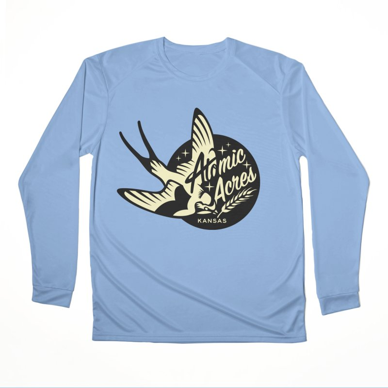 ATOMIC ACRES KANSAS shirts (men, women, kids) Women's Longsleeve T-Shirt by Max Grundy Design's Artist Shop