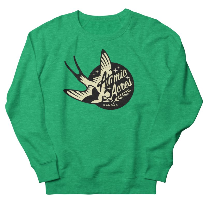 ATOMIC ACRES KANSAS shirts (men, women, kids) Women's Sweatshirt by Max Grundy Design's Artist Shop