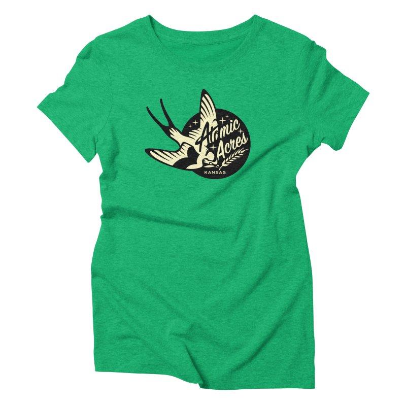 ATOMIC ACRES KANSAS shirts (men, women, kids) Women's T-Shirt by Max Grundy Design's Artist Shop