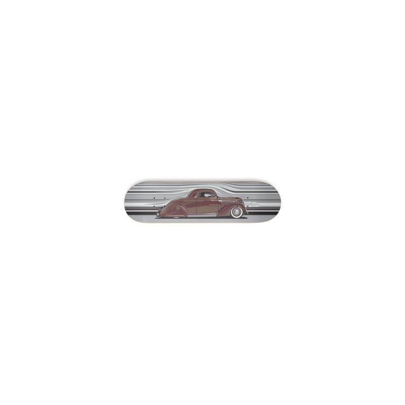 Streamline '36 skateboard deck Accessories Skateboard by Max Grundy Design's Artist Shop