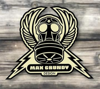 Max Grundy Design's Artist Shop Logo