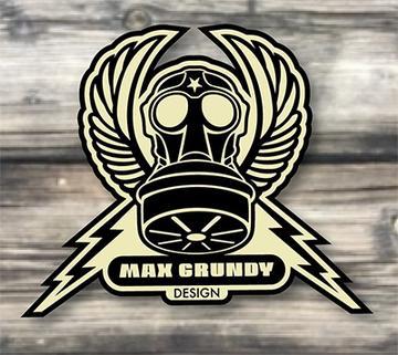 Max Grundy Design's Artist Shop Logo