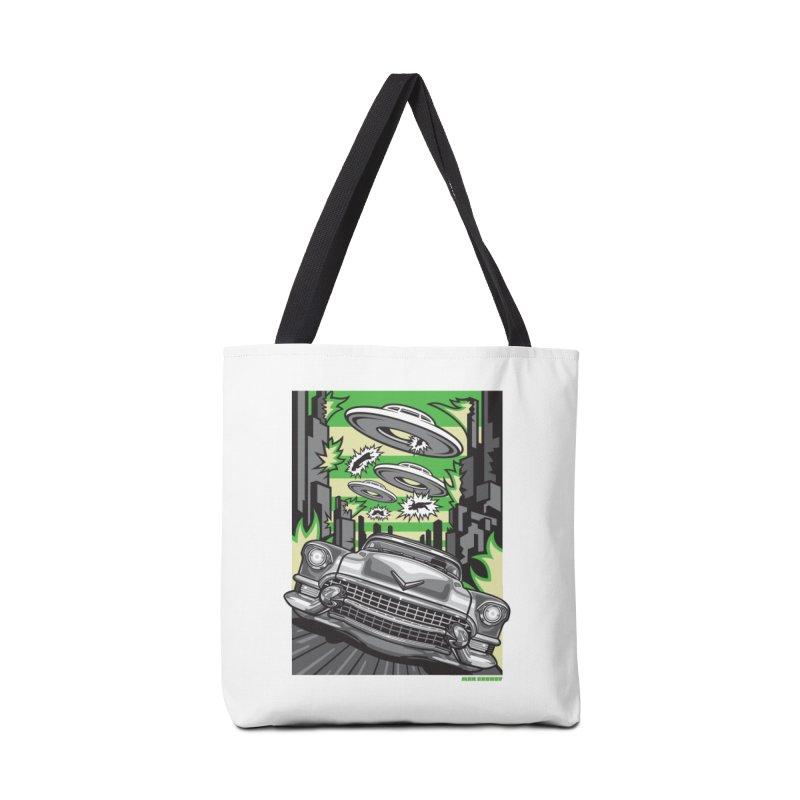 Kulture Shock Accessories Tote Bag Bag by Max Grundy Design's Artist Shop