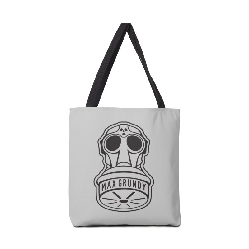 Gas Mask (Black) Accessories Bag by Max Grundy Design's Artist Shop