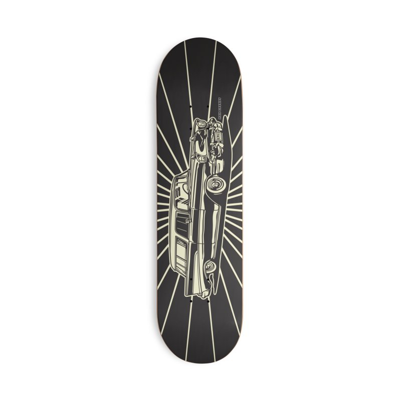 NOMAD skateboard Accessories Skateboard by Max Grundy Design's Artist Shop