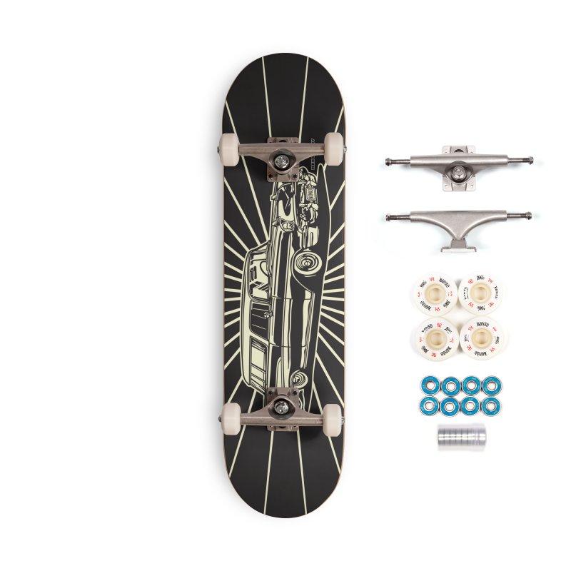 NOMAD skateboard Accessories Complete - Premium Skateboard by Max Grundy Design's Artist Shop