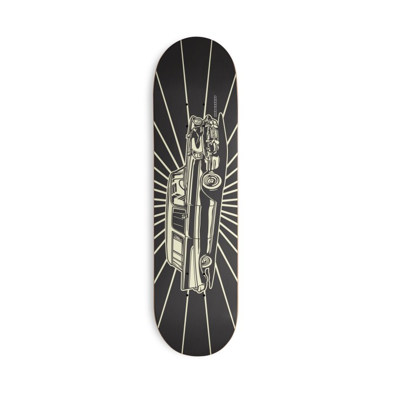 NOMAD skateboard Accessories Deck Only Skateboard by Max Grundy Design's Artist Shop
