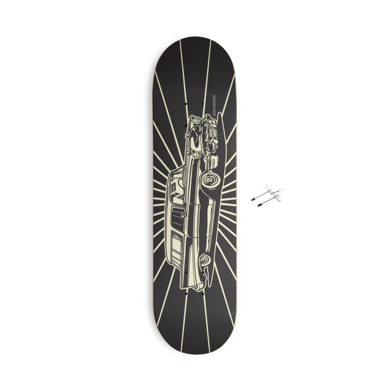 NOMAD skateboard Accessories With Hanging Hardware Skateboard by Max Grundy Design's Artist Shop