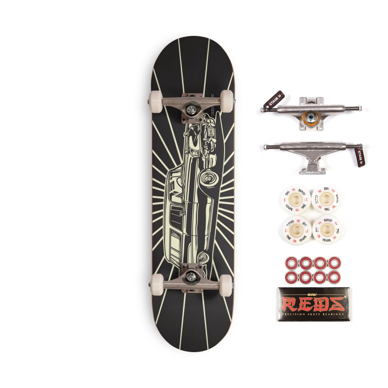 NOMAD skateboard Accessories Complete - Pro Skateboard by Max Grundy Design's Artist Shop