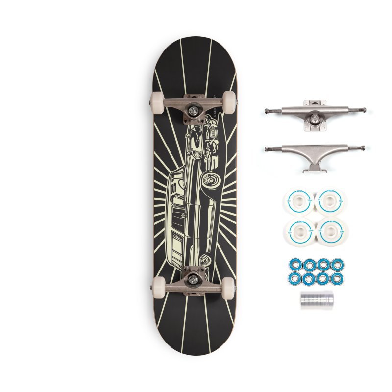 NOMAD skateboard Accessories Complete - Basic Skateboard by Max Grundy Design's Artist Shop