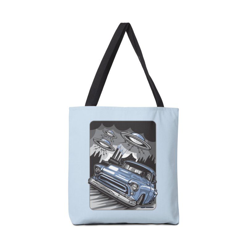 UFO TASK FORCE Accessories Tote Bag Bag by Max Grundy Design's Artist Shop