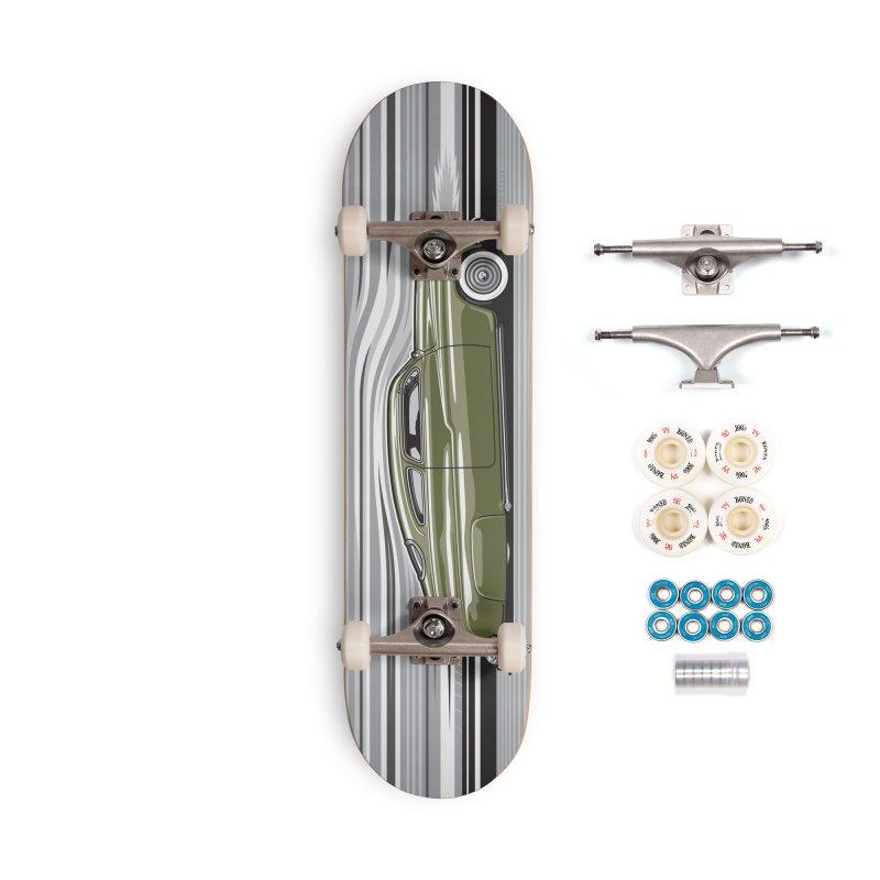 Streamline '50 Accessories Complete - Premium Skateboard by Max Grundy Design's Artist Shop