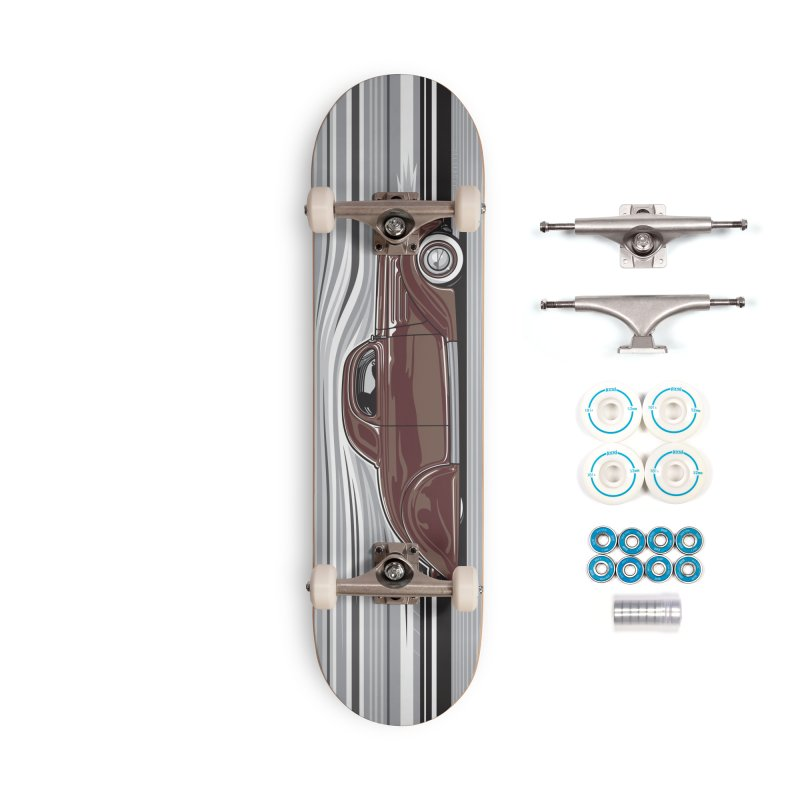Streamline '36 Accessories Complete - Basic Skateboard by Max Grundy Design's Artist Shop