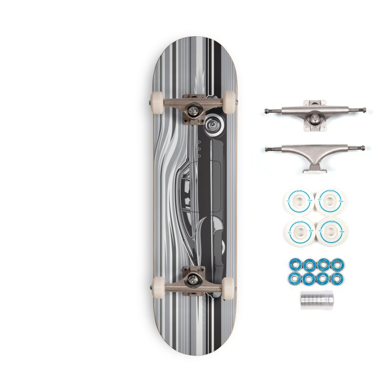 Streamline '49 Accessories Complete - Basic Skateboard by Max Grundy Design's Artist Shop