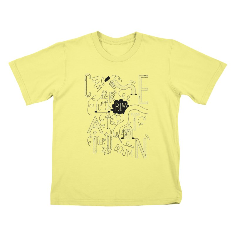 Cera Kids T-shirt by maximefrancout's Artist Shop