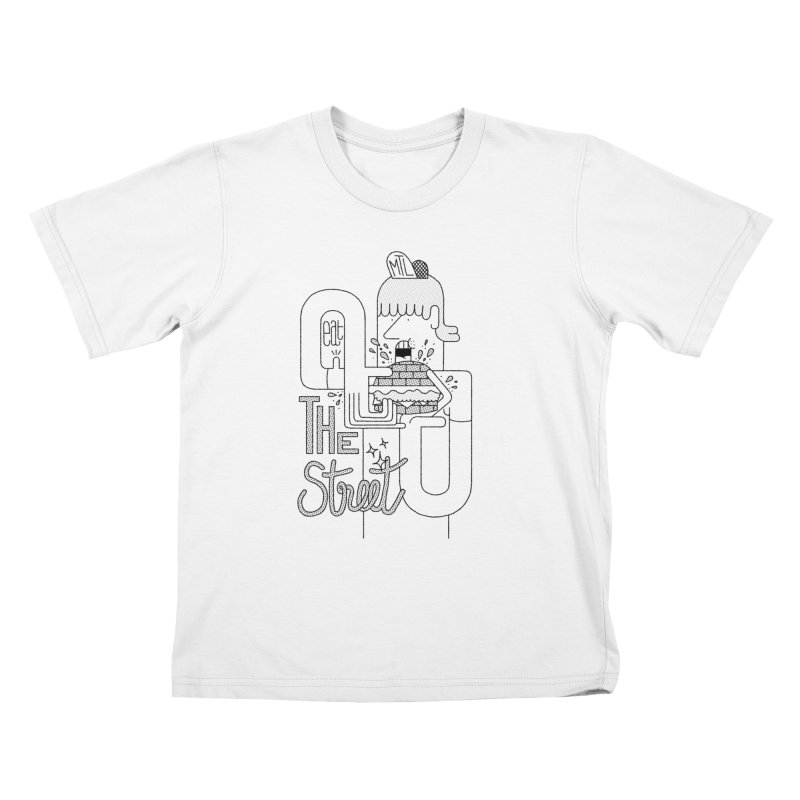 Eat The Street Kids T-Shirt by maximefrancout's Artist Shop