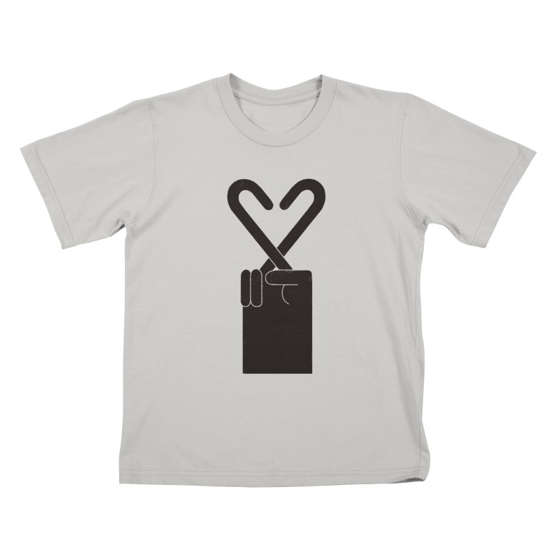 Fingers Crossed Kids T-shirt by maximefrancout's Artist Shop