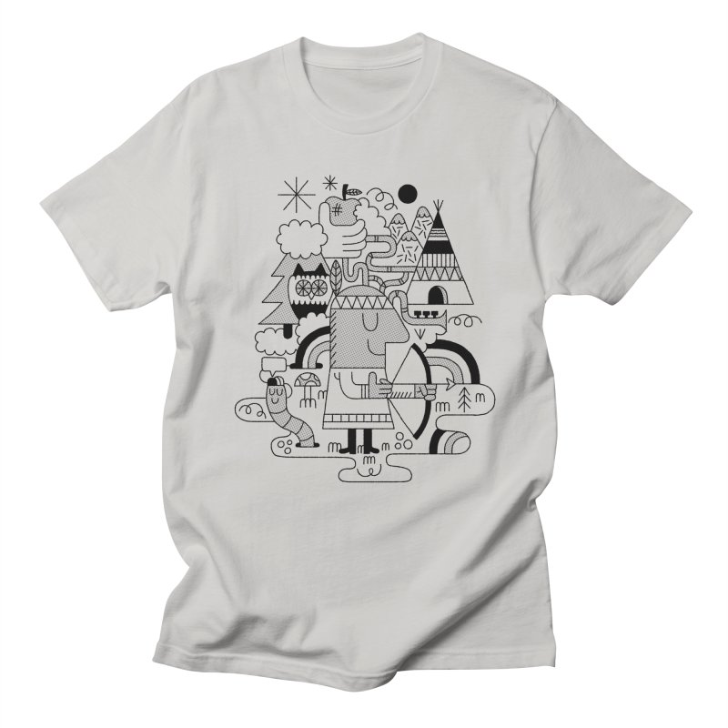 Nature Men's T-Shirt by maximefrancout's Artist Shop