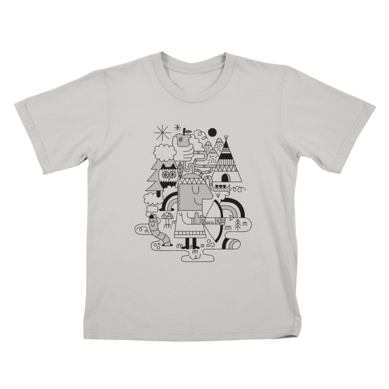 Nature Kids T-shirt by maximefrancout's Artist Shop