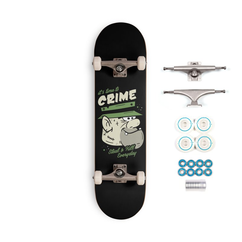 Time to Crime Accessories Complete - Basic Skateboard by MXM — ltd. collection