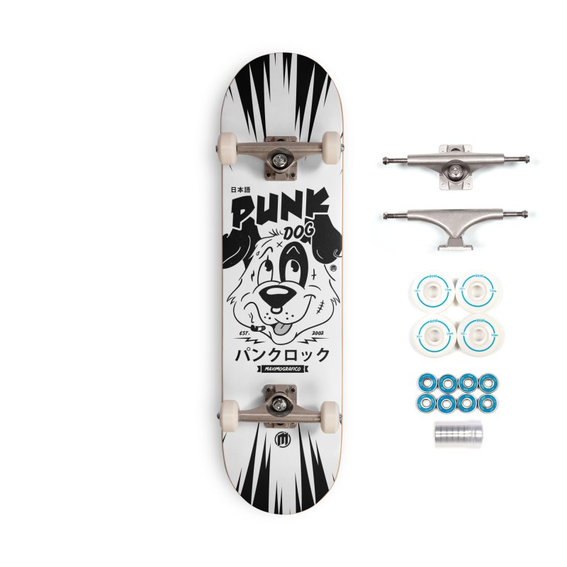 Punk Dog Accessories Complete - Basic Skateboard by MAXIMOGRAFICO — shop