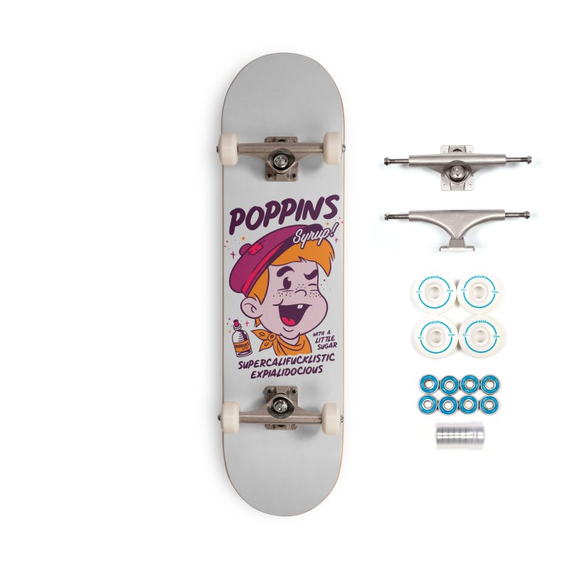 Poppins Syrup! Accessories Complete - Basic Skateboard by MXM — ltd. collection