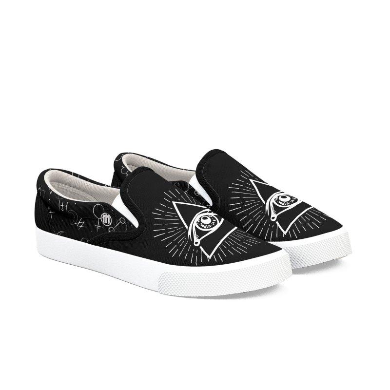 Iluminati Men's Slip-On Shoes by MAXIMOGRAFICO — shop
