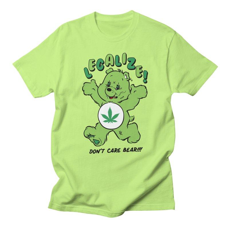 Don't Care Bear Women's Regular Unisex T-Shirt by MAXIMOGRAFICO — shop
