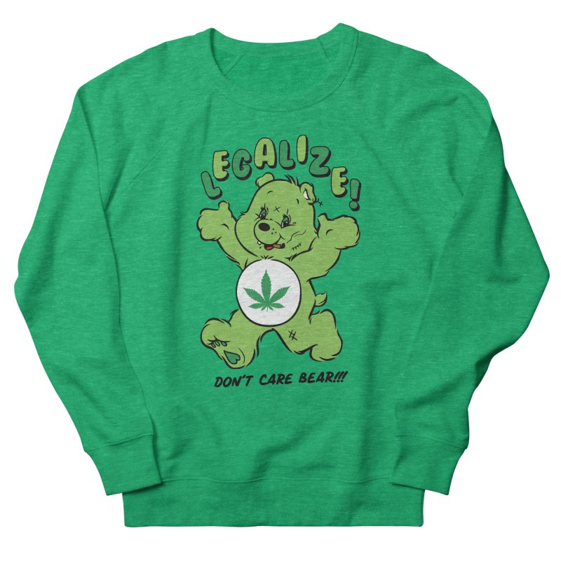 Don't Care Bear Men's French Terry Sweatshirt by MXM — collection
