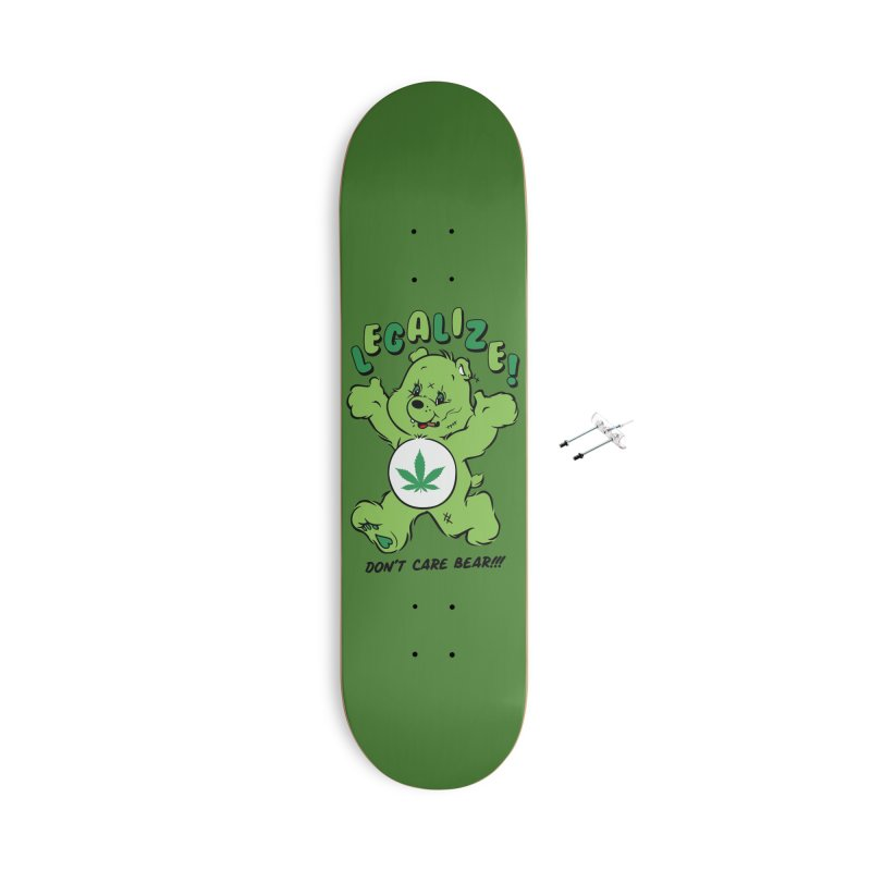 Don't Care Bear Accessories With Hanging Hardware Skateboard by MXM — ltd. collection