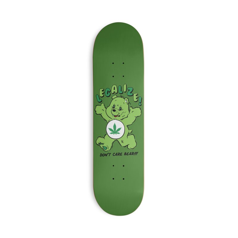 Don't Care Bear Accessories Deck Only Skateboard by MXM — ltd. collection