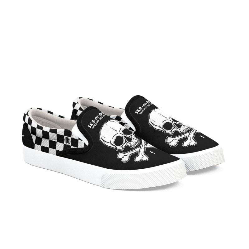 SK8-or-DIE Men's Slip-On Shoes by MAXIMOGRAFICO — shop