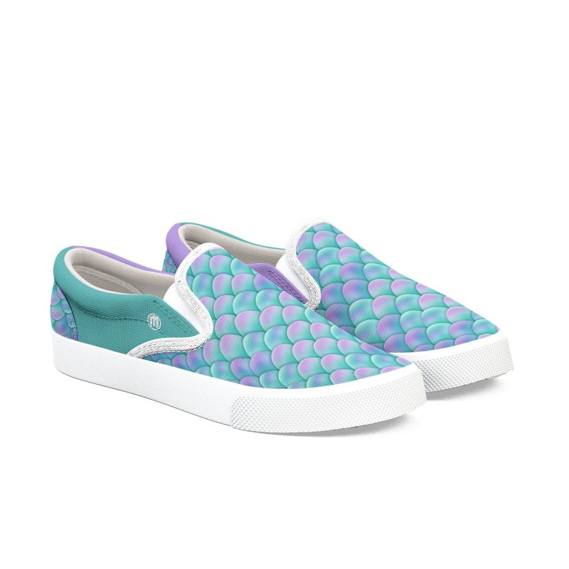 Dragon Party Women's Slip-On Shoes by MAXIMOGRAFICO — shop