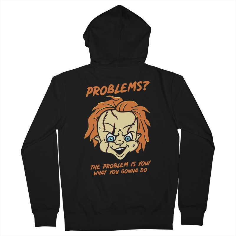 Problems? Men's French Terry Zip-Up Hoody by MAXIMOGRAFICO — shop