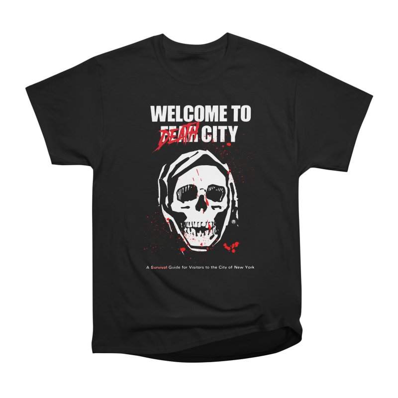 Death City Men's Heavyweight T-Shirt by MAXIMOGRAFICO — shop