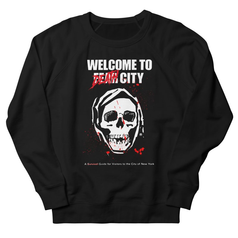 Death City Men's French Terry Sweatshirt by MAXIMOGRAFICO — shop