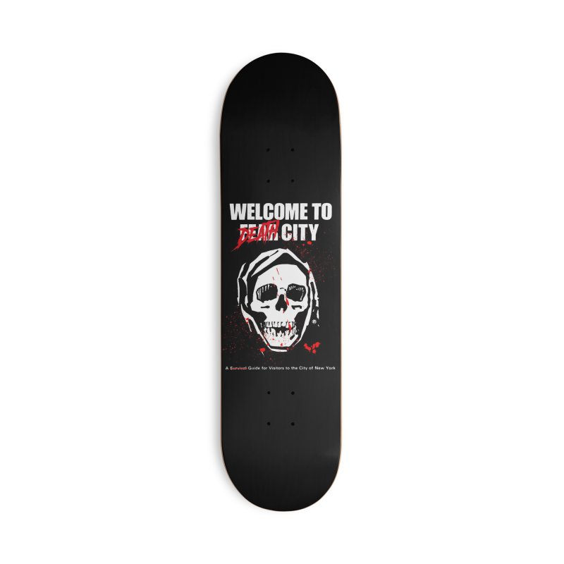 Death City Accessories Skateboard by MAXIMOGRAFICO — shop
