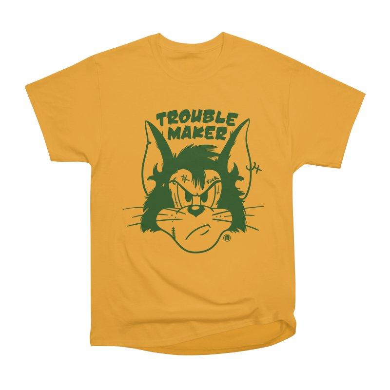 Trouble Maker Men's Heavyweight T-Shirt by MAXIMOGRAFICO — shop