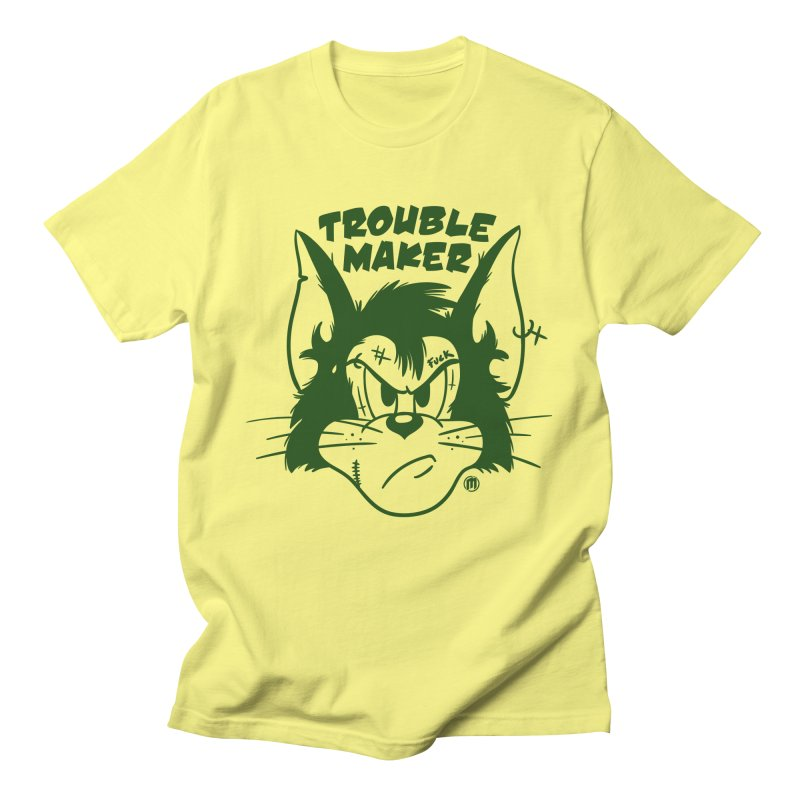 Trouble Maker Women's Regular Unisex T-Shirt by MAXIMOGRAFICO — shop
