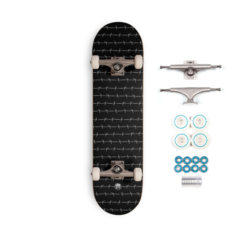 Barbed Wire Accessories Complete - Basic Skateboard by MAXIMOGRAFICO — shop