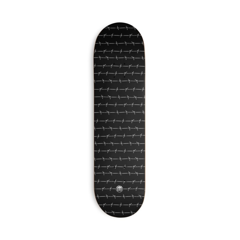 Barbed Wire Accessories Deck Only Skateboard by MAXIMOGRAFICO — shop