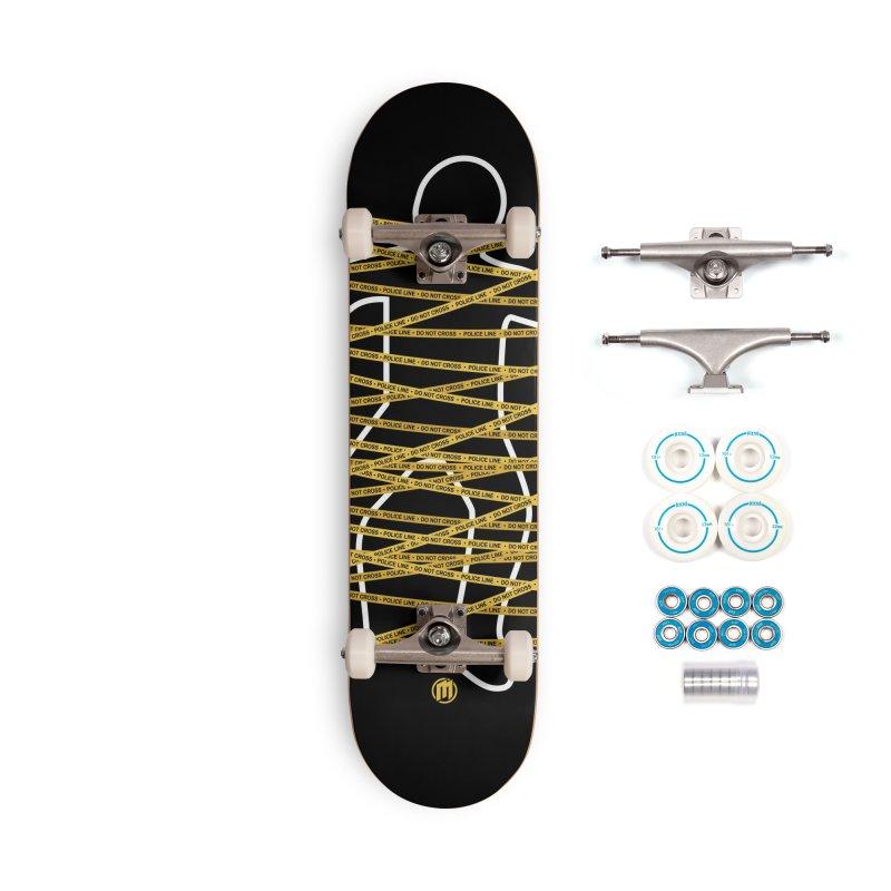 Crime Scene Accessories Complete - Basic Skateboard by MAXIMOGRAFICO — shop