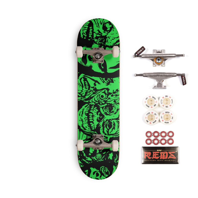 Monsters Accessories Complete - Pro Skateboard by MAXIMOGRAFICO — shop