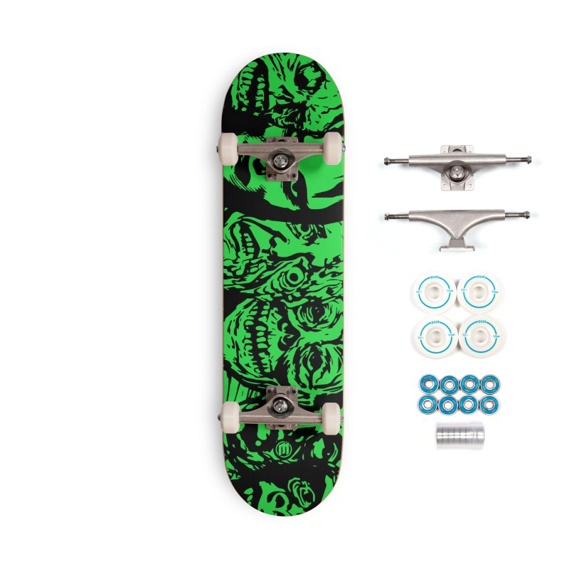 Monsters Accessories Complete - Basic Skateboard by MAXIMOGRAFICO — shop