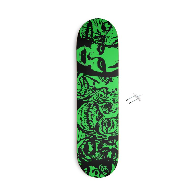 Monsters Accessories With Hanging Hardware Skateboard by MAXIMOGRAFICO — shop
