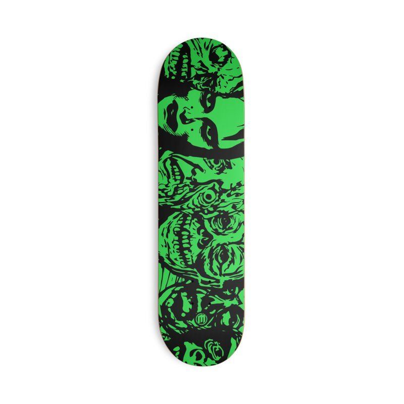 Monsters Accessories Skateboard by MAXIMOGRAFICO — shop