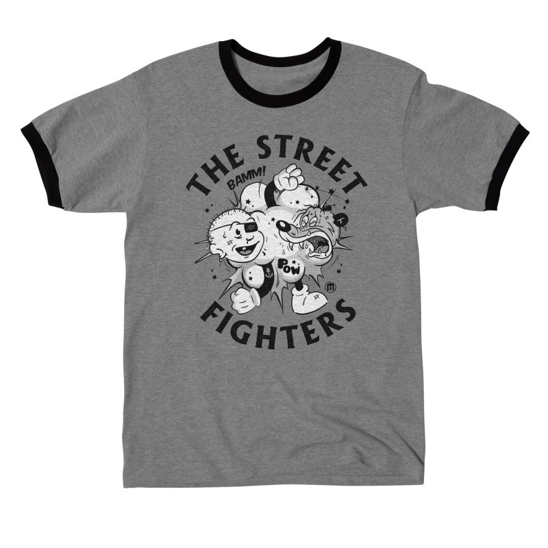The Street Fighters Men's T-Shirt by MAXIMOGRAFICO Ltd. Collection