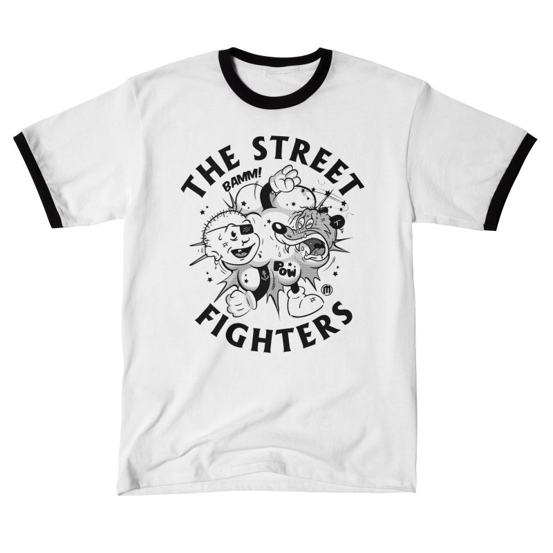 The Street Fighters Men's T-Shirt by MXM — ltd. collection