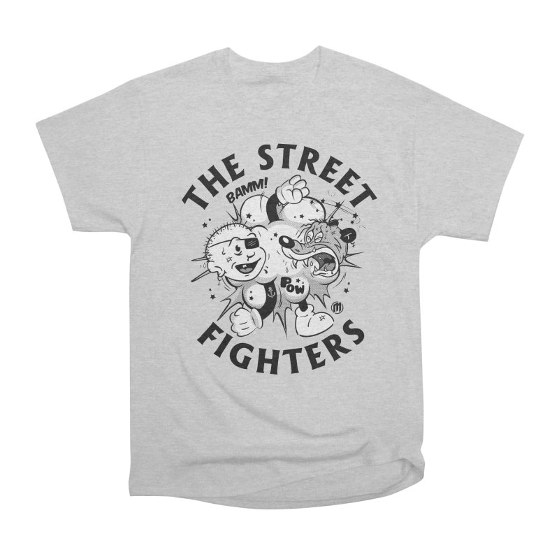 The Street Fighters Men's Heavyweight T-Shirt by MAXIMOGRAFICO — shop